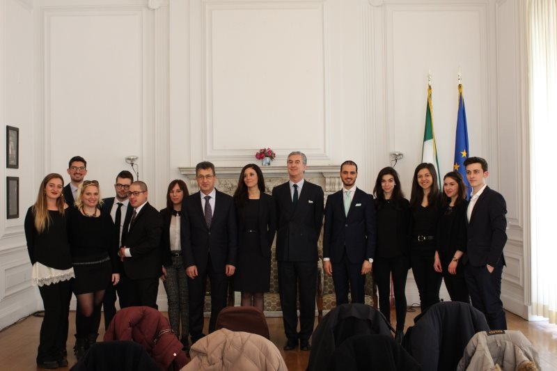 MissionBriefing at the Italian Consulate General in New York